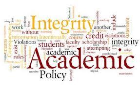 process for academic dishonestyacademic integrity