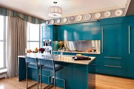 painted blue kitchen cabinets house: retro blue kitchen cabinet ideas trend decoration