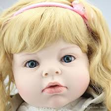 <b>70cm Silicone Reborn</b> Baby Doll Lifelike Big Size Princess Baby ...