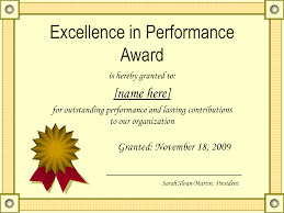 student award certificate template design ideas vueklar outstanding excellence in performance awards certificate template
