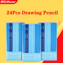 Brutfuner 24 шт 6H to14B <b>мягкий карандаш для</b> рисования ...
