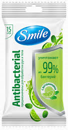 <b>Антибактериальные салфетки SMILE</b>