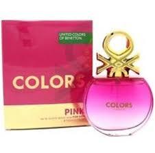 United <b>Colors</b> of <b>Benetton Colors De Benetton Pink</b> Eau <b>De</b> Toilette ...