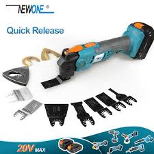<b>20V Quick-Release Oscillating Multitool</b> Anti-Vibration Electric ...
