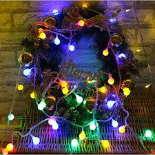 China 3m 6m <b>10m</b> Fairy <b>Garland LED</b> Ball <b>String</b> Lights Waterproof ...