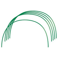 Купить <b>парниковые дуги в пвх</b> 0, 85х0, 9м 6 шт. диаметр провол ...