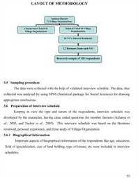 Dissertation Methodology Examples   UK Essays