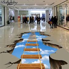beibehang <b>Custom floor painting 3d</b> three dimensional drawing ...