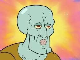 Handsome Squidward / Squidward Falling | Know Your Meme via Relatably.com