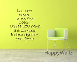 aliexpresscom buy courage motivational quote wall sticker diy decorative courage inspirational quote office vinyl wall art decal custom colors q96 from amazing wall quotes office