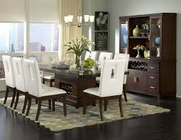 chair dining tables room contemporary: dining roombeautiful dining table centerpieces ideas with modern rectangle brown wood dining table and