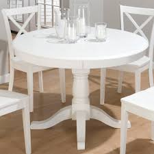 Distressed White Kitchen Table Kitchen Kitchen Table Pedestal Round Country Wood Table And