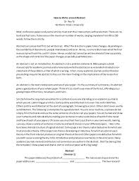 rey ty how to write a good abstract for an academic paper       jpg cb                how to write a good history dissertation conclusion chapter dissertation