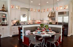 Kitchen Booth Simple Yet Eye Catching Decoration For Kitchen Booth Island