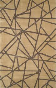 The American Home Rug Company Casual Contemporary Connected Gold  Rugs  O
