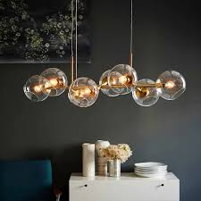 <b>Nordic Loft Glass</b> Ball Pendant Lights Creative Molecule Design ...