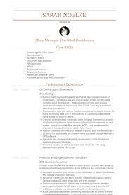 bookkeeper resume samples  resume samples database office manager bookkeeper resume samples