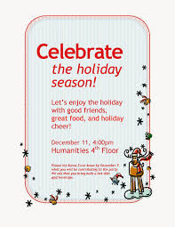 attractive holiday party invitation flyer features party dress chic holiday party invite corporate wording