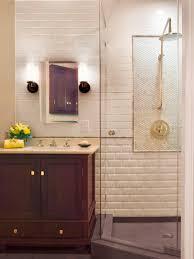 brick tiles bathroom makeover  sp rx white brick shower sxjpgrendhgtvcom