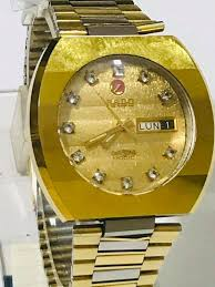 <b>Vintage</b> Rado Diastar Swiss Automatic <b>gold</b> plated . ref 636.0160.3 ...