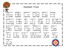 Kindergarten Alphabet Tracing Worksheets - letter tracing 2 ...alphabets for kindergarten tracing k5 worksheets