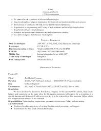 resume format for experienced software developer   sales    sample resume  resume format for experience software developer