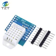 DHT22 Pro Shield for D1 mini <b>DHT22 Single bus digital</b> temperature ...