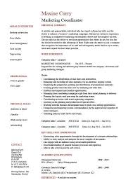 marketing coordinator resume   s  example  sample  advertising    marketing coordinator resume   s  example  sample  advertising campaigns  job description  jobs