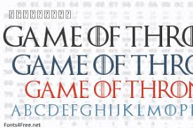 <b>Game of Thrones</b> Font Download - Fonts4Free