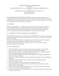 10 best images of memorandum agreement template example it