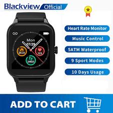 <b>Blackview New SmartWatch X2</b> Heart Rate Men Women Sports ...
