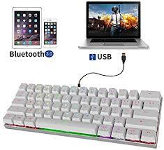 <b>MOTOSPEED CK62</b> Bluetooth <b>Wireless</b>+USB <b>Wired</b> Dual-Mode ...
