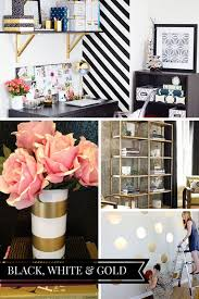 home office decorate cubicle. a chic black white u0026 gold office inspiration board check out more ideas and home decorate cubicle e