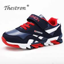 <b>Thestron</b> Couples Running Shoes PU Leather <b>High Top</b> Trainers Air ...
