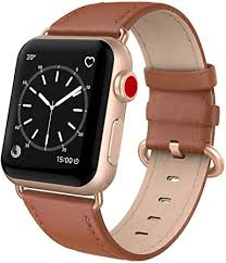 SWEES Leather Band Compatible for iWatch 38mm ... - Amazon.com