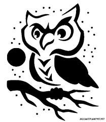 Owl <b>Pumpkin Stencil</b>