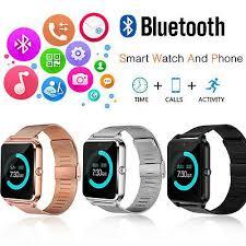 Bluetooth Smart Watch Phone <b>Z60 Smartwatch</b> Stainless Steel for ...