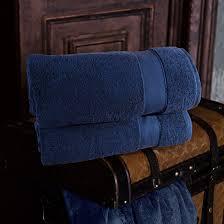 "<b>Набор из 2 полотенец</b> ""Аберден"" Цвет: Темно-Синий (70х140 см ..."