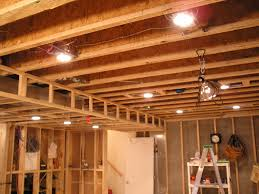 unfinished basement lighting ideas to inspire you how to arrange the basement with smart decor 3 bets basement lighting
