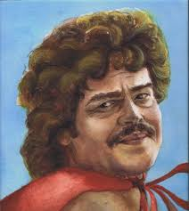Nacho Libre. Watercolor. Posted by Jess at 10:41 AM - NachoLibre
