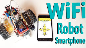 How to Make Arduino ESP8266 <b>WiFi Robot</b> Car | Controlled with ...