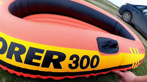 <b>Лодка Intex Explorer</b>-<b>300</b> - YouTube