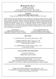 lawyer resume example senior attorney resume