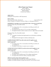 resume templates best sample breathtaking resume templates 6 first job cv template financial statement form inside job resume template