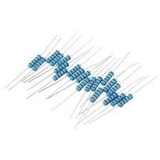 <b>60pcs 2W 2KR</b> me<x>tal Film Resistor Resistance 1% 2k ohm ...