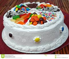 Decorated Birthday Cakes Fancy Decorated Birthday Cake Royalty Free Stock Photography