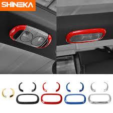 <b>SHINEKA Interior</b> Mouldings <b>ABS</b> Car <b>Interior Reading Light</b> Frame ...