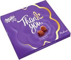 Шоколадные <b>Конфеты Milka Thank You</b>, 110г — купить в ...