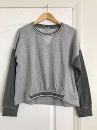 Женская кофта или <b>толстовка</b> Splendid Medium Gray Sweatshirt ...