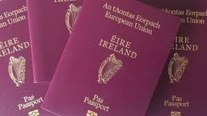 Risultati immagini per passaporto irlandese